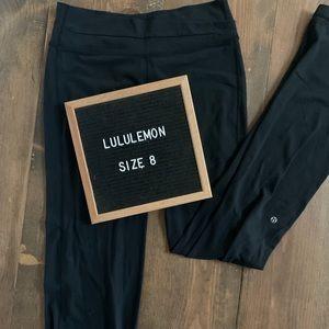 Lululemon Astro Pants Criss Cross Waist